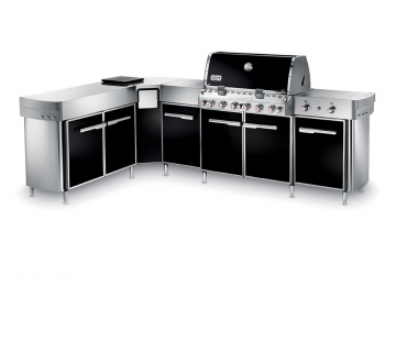 Summit® Grill Center with Left-Hand Social Area